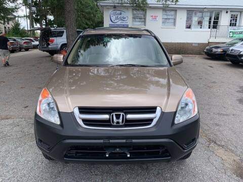2003 Honda CR-V for sale at MEEK MOTORS in North Chesterfield VA