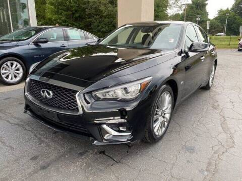 2020 Infiniti Q50 for sale at Credit Union Auto Buying Service in Winston Salem NC