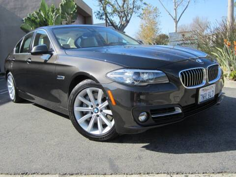 2015 BMW 5 Series for sale at ORANGE COUNTY AUTO WHOLESALE in Irvine CA
