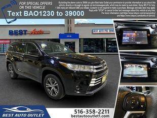 2017 Toyota Highlander for sale at Best Auto Outlet in Floral Park NY
