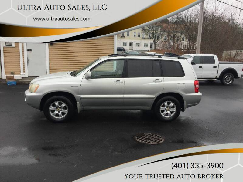 2003 Toyota Highlander for sale at Ultra Auto Sales, LLC in Cumberland RI