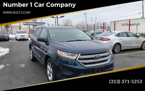 2017 Ford Edge for sale at NUMBER 1 CAR COMPANY in Warren MI