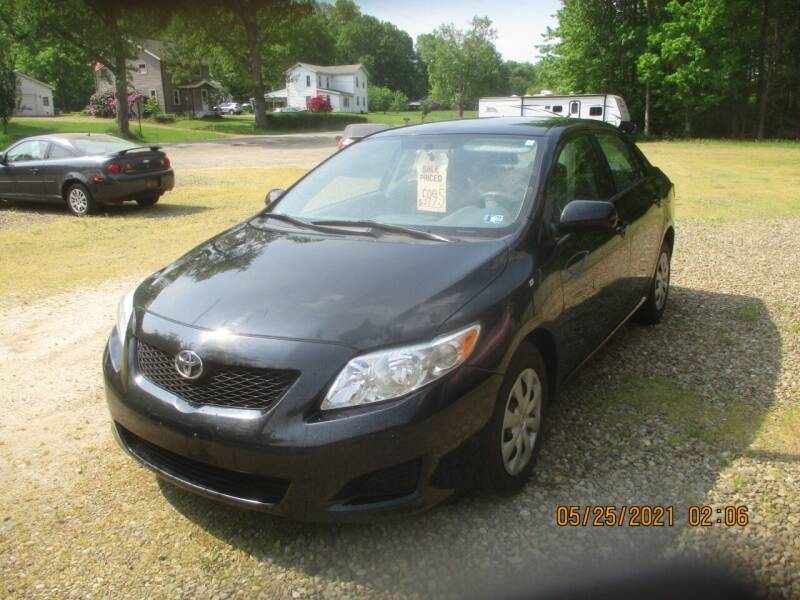 2009 Toyota Corolla for sale at Randy's Auto Sales in Franklin PA