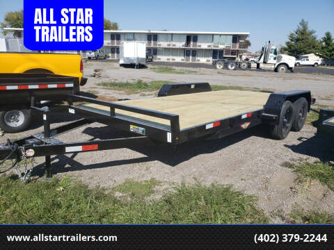 2020 H&H 18 FOOT FLATBED for sale at ALL STAR TRAILERS Flatbeds in , NE