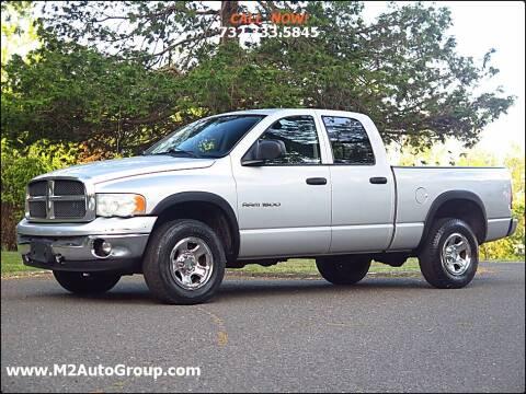 2003 Dodge Ram Pickup 1500 for sale at M2 Auto Group Llc. EAST BRUNSWICK in East Brunswick NJ