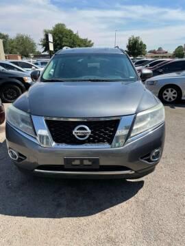 2015 Nissan Pathfinder for sale at Top Gun Auto Sales, LLC in Albuquerque NM