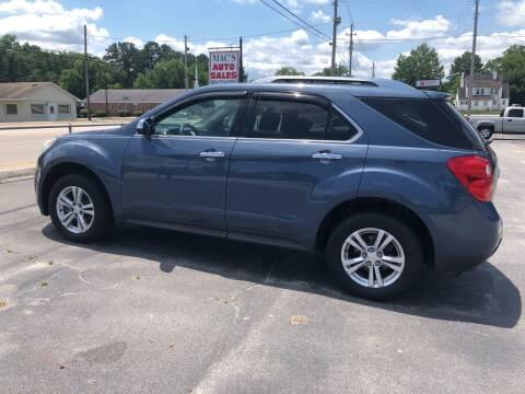 2012 Chevrolet Equinox for sale at Mac's Auto Sales in Camden SC