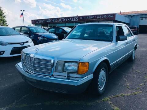 1989 Mercedes-Benz 300-Class for sale at LUXURY IMPORTS AUTO SALES INC in North Branch MN
