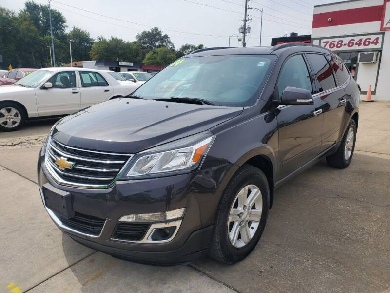 2014 Chevrolet Traverse for sale at Quallys Auto Sales in Olathe KS