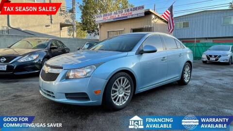 2011 Chevrolet Cruze for sale at San Diego Auto Traders in San Diego CA