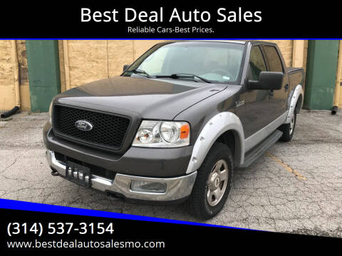 2004 Ford F-150 for sale at Best Deal Auto Sales in Saint Charles MO