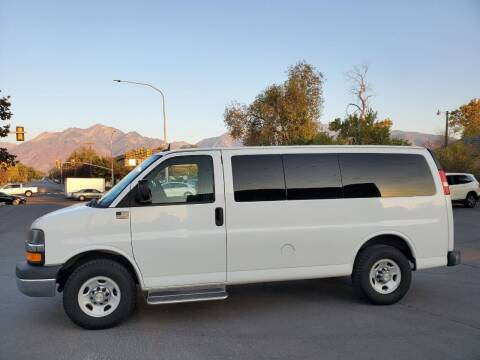 2014 Chevrolet Express Passenger for sale at UTAH AUTO EXCHANGE INC in Midvale UT