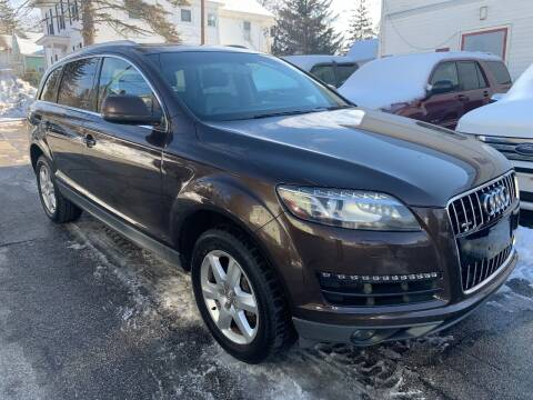 2011 Audi Q7 for sale at Amherst Street Auto in Manchester NH