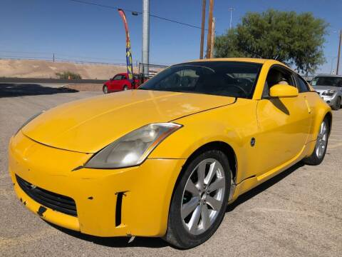 2005 Nissan 350Z for sale at Eastside Auto Sales in El Paso TX