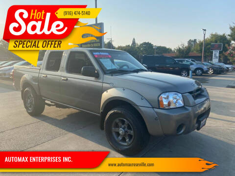 2004 Nissan Frontier for sale at AUTOMAX ENTERPRISES INC. in Roseville CA