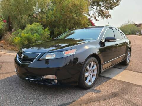 2012 Acura TL for sale at BUY RIGHT AUTO SALES in Phoenix AZ
