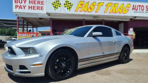 2014 Ford Mustang for sale at Fast Trac Auto Sales in Phoenix AZ