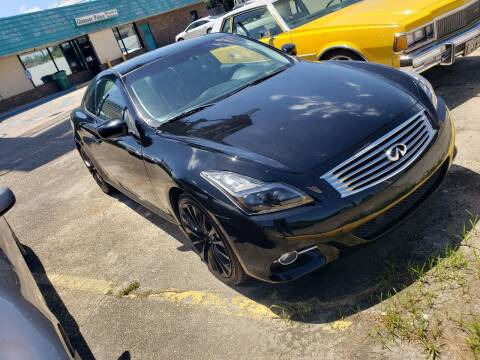 2012 Infiniti G37 Coupe for sale at Walker Auto Sales and Towing in Marrero LA