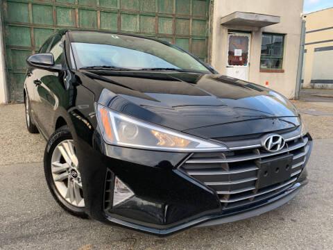 2019 Hyundai Elantra for sale at O A Auto Sale in Paterson NJ