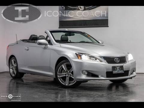 2013 Lexus IS 250C for sale at Iconic Coach in San Diego CA