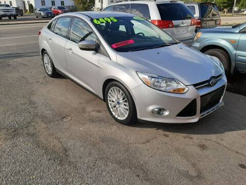 2012 Ford Focus for sale at TC Auto Repair and Sales Inc in Abington MA
