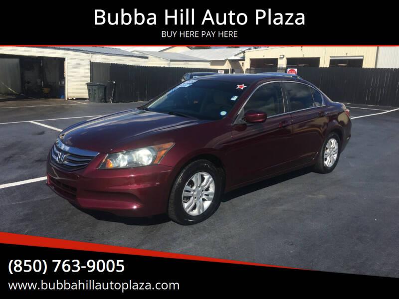 2011 Honda Accord for sale at Bubba Hill Auto Plaza in Panama City FL