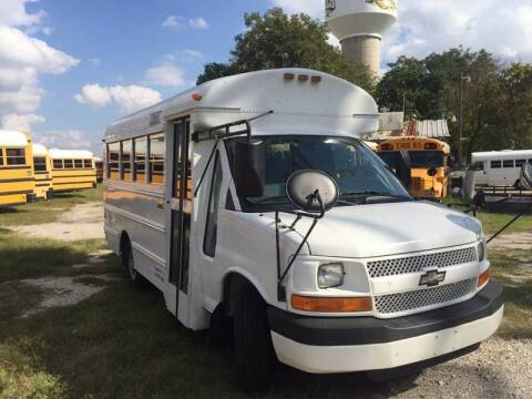 2005 Chevrolet Express Cutaway for sale at Bus Barn of Texas in Cypress TX