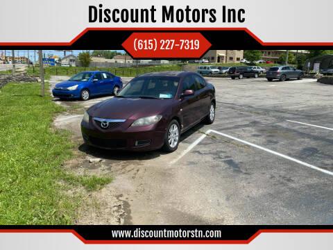 2008 Mazda MAZDA3 for sale at Discount Motors Inc in Nashville TN