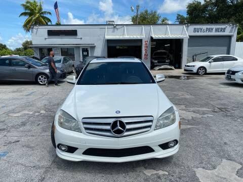 2009 Mercedes-Benz C-Class for sale at America Auto Wholesale Inc in Miami FL