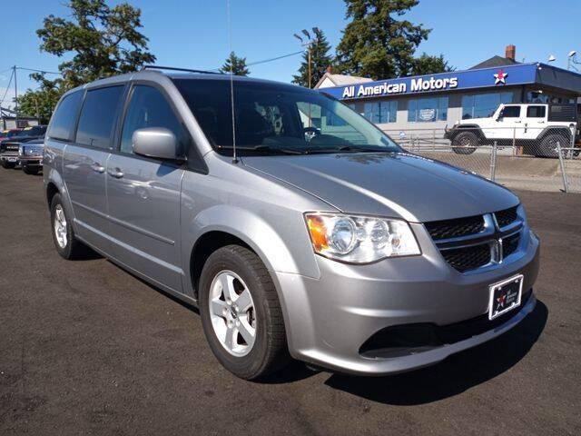 2013 Dodge Grand Caravan for sale at All American Motors in Tacoma WA