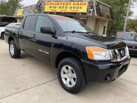 2009 Nissan Titan for sale at Courtesy Cars in Independence MO