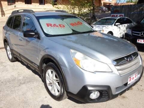 2014 Subaru Outback for sale at R & D Motors in Austin TX