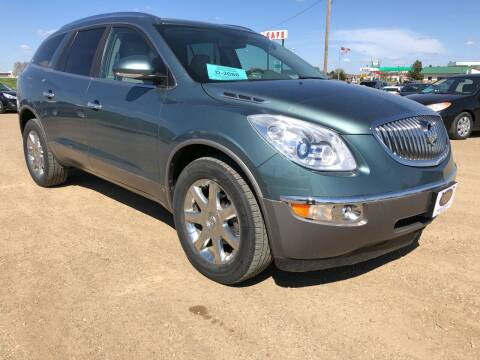 2009 Buick Enclave for sale at BERG AUTO MALL & TRUCKING INC in Beresford SD