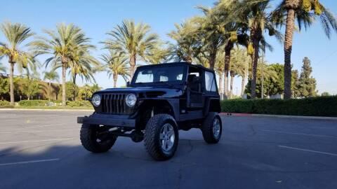 2003 Jeep Wrangler for sale at Alltech Auto Sales in Covina CA