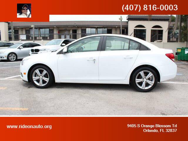 2014 Chevrolet Cruze for sale at Ride On Auto in Orlando FL