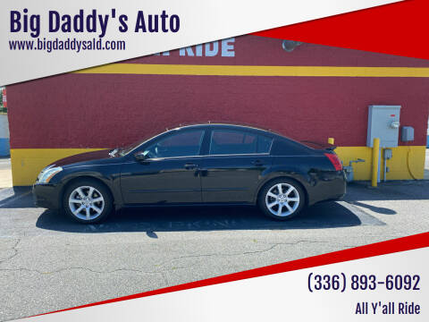2007 Nissan Maxima for sale at Big Daddy's Auto in Winston-Salem NC