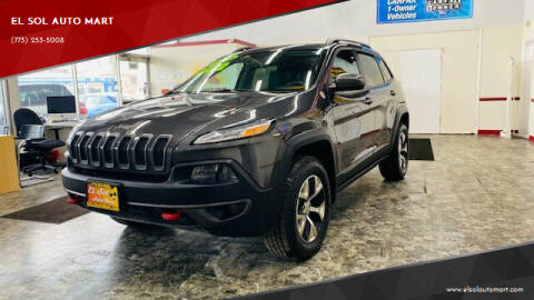 2014 Jeep Cherokee for sale at EL SOL AUTO MART in Franklin Park IL