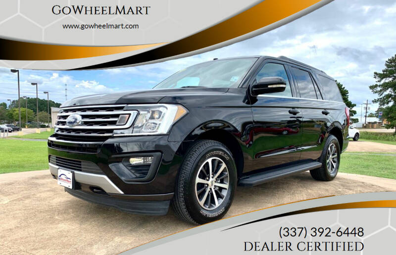 2019 Ford Expedition for sale at GOWHEELMART in Leesville LA
