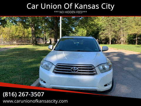 2010 Toyota Highlander for sale at Car Union Of Kansas City in Kansas City MO