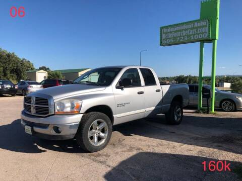 2006 Dodge Ram Pickup 1500 for sale at Independent Auto in Belle Fourche SD