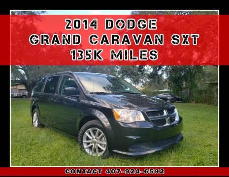 2014 Dodge Grand Caravan for sale at AFFORDABLE ONE LLC in Orlando FL