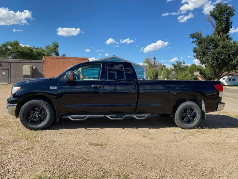 2012 Toyota Tundra for sale at Chubbuck Motor Co in Ordway CO