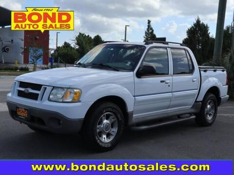 2003 Ford Explorer Sport Trac for sale at Bond Auto Sales in Saint Petersburg FL