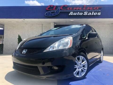 2011 Honda Fit for sale at El Camino Auto Sales in Gainesville GA