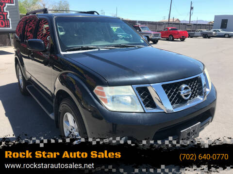 2008 Nissan Pathfinder for sale at Rock Star Auto Sales in Las Vegas NV