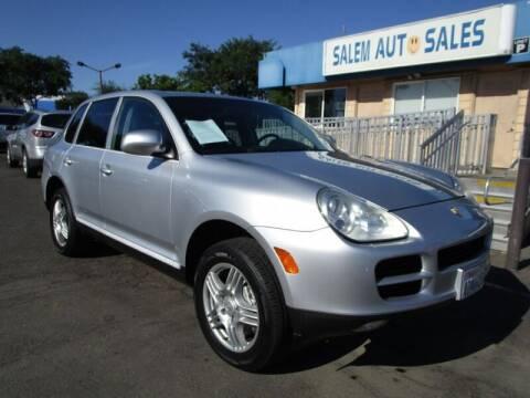 2004 Porsche Cayenne for sale at Salem Auto Sales in Sacramento CA
