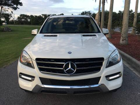 2013 Mercedes-Benz M-Class for sale at Gulf Financial Solutions Inc DBA GFS Autos in Panama City Beach FL