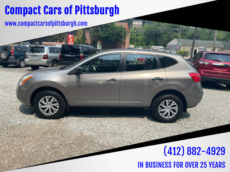 2010 Nissan Rogue for sale at Compact Cars of Pittsburgh in Pittsburgh PA