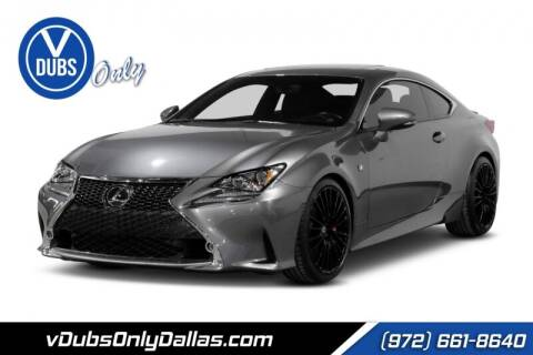 2015 Lexus RC 350 for sale at VDUBS ONLY in Dallas TX