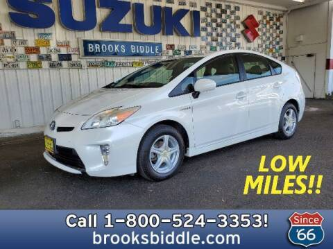 2013 Toyota Prius for sale at BROOKS BIDDLE AUTOMOTIVE in Bothell WA